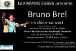 Dîner - Concert Bruno BREL